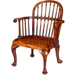 Antique Mahogany Windsor Chair