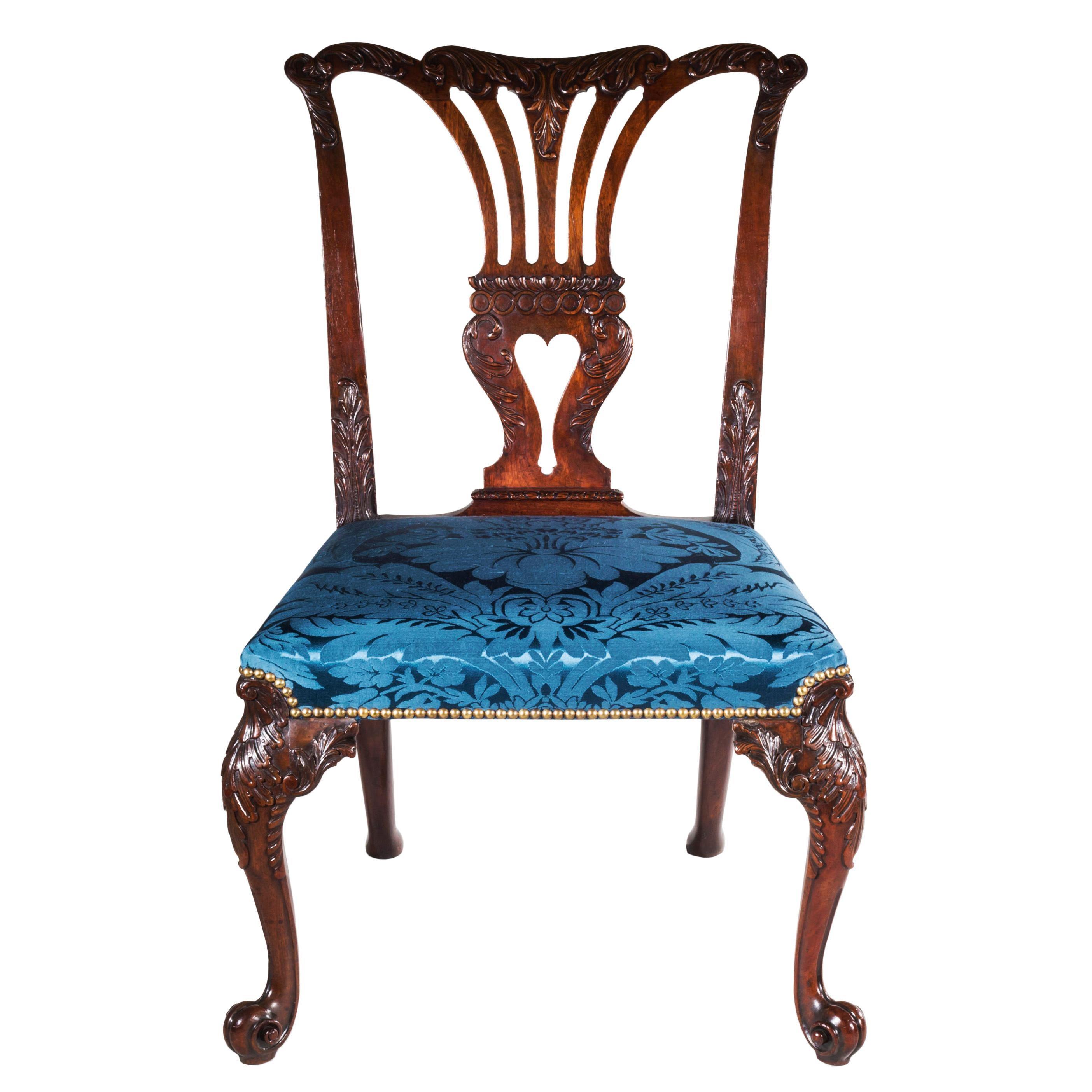 Chippendale Rococo Chair Attributed To Vile U0026 Cobb, English, Circa 1755