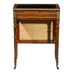 Regency Writing Table or Desk Attributed to John Mclean