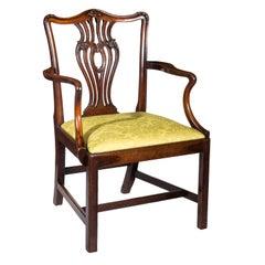 Chippendale Desk Armchair
