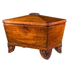 Regency Greek Revival Casket