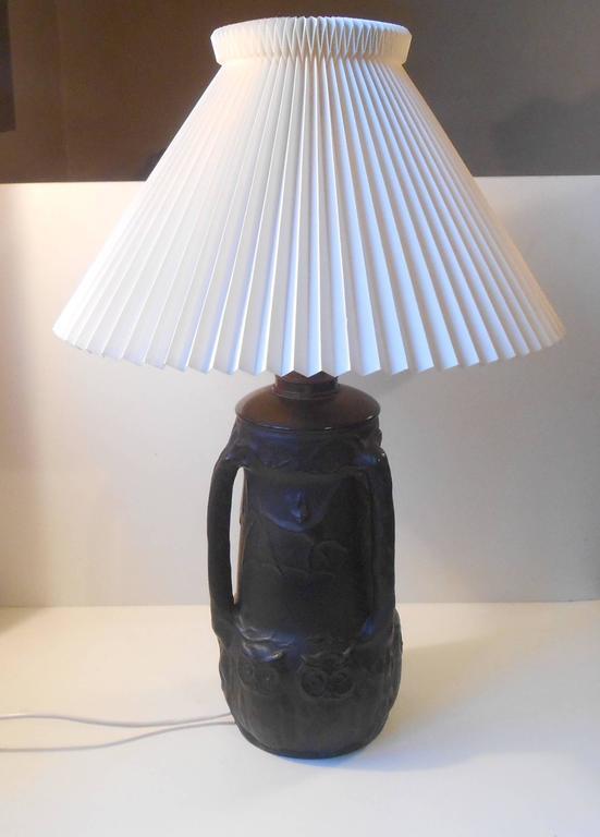 Danish black terracotta pottery