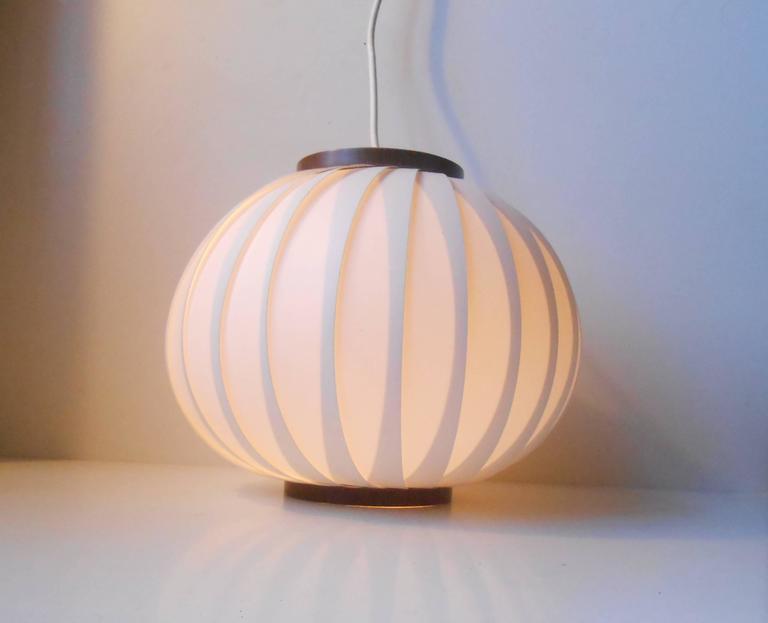 Mid-Century Modern 1950s Bojan Pendant Lamp by Lars Schiøler for Hoyrup, Early Danish Modern