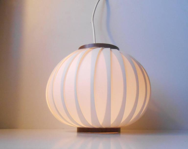 Bojan Pendant Lamp by Lars Schiøler for Hoyrup. Measurements: approx. 28x28 cm (11x11 inches).