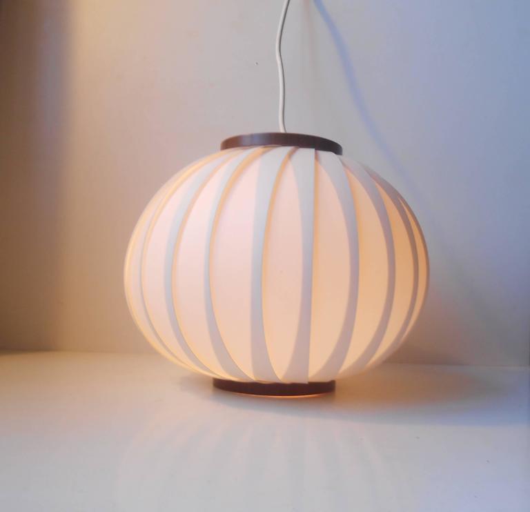 Mid-20th Century 1950s Bojan Pendant Lamp by Lars Schiøler for Hoyrup, Early Danish Modern