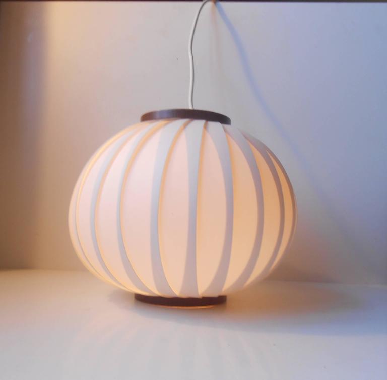 1950s Bojan Pendant Lamp by Lars Schiøler for Hoyrup, Early Danish Modern 1
