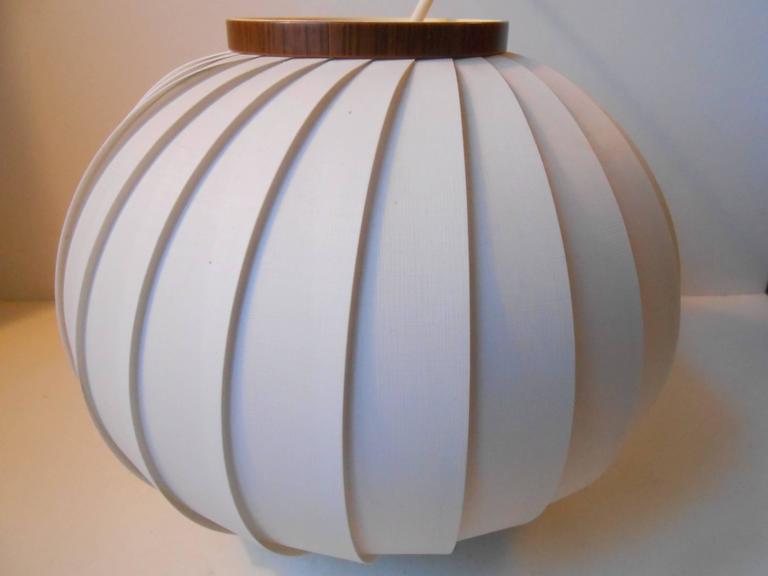 1950s Bojan Pendant Lamp by Lars Schiøler for Hoyrup, Early Danish Modern 2