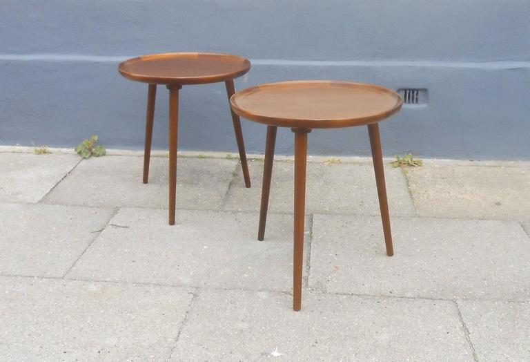 Three Legged Round Side Table Designs
