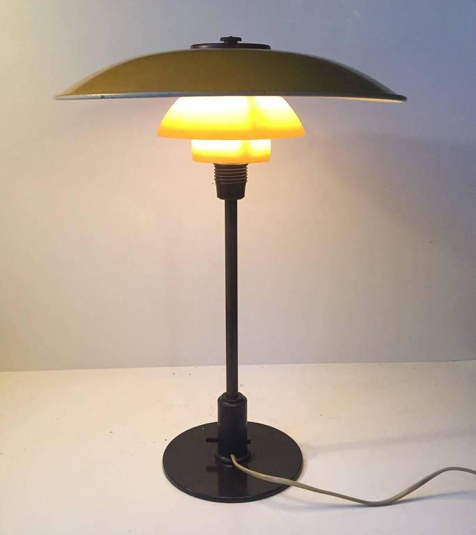 1930s PH 3,5/2 Table Lamp by Poul Henningsen for Louis Poulsen Denmark In Good Condition For Sale In Esbjerg, DK
