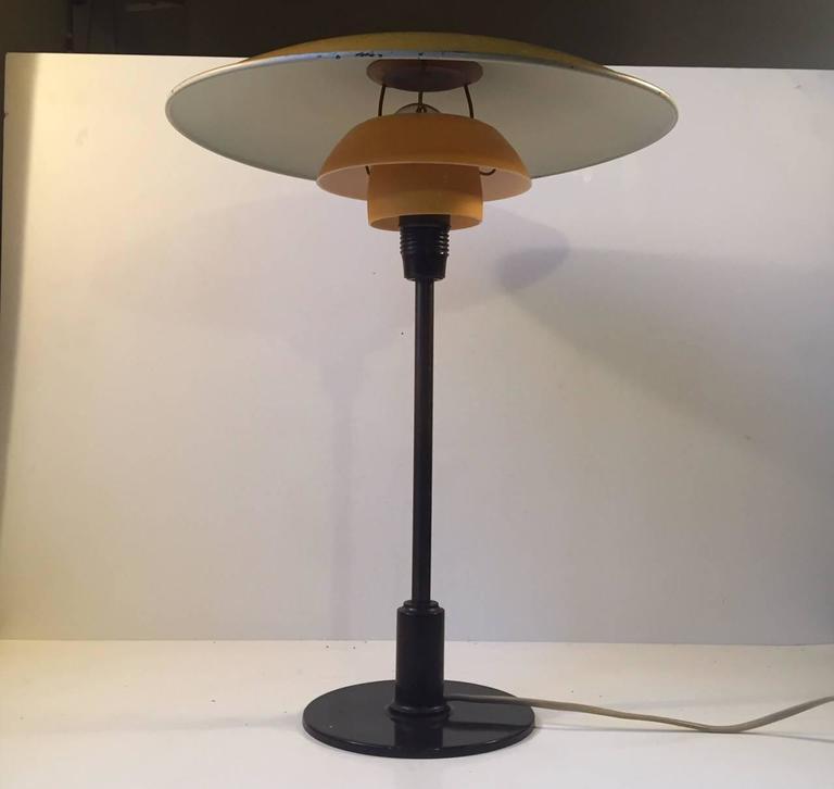 Brass 1930s PH 3,5/2 Table Lamp by Poul Henningsen for Louis Poulsen Denmark For Sale