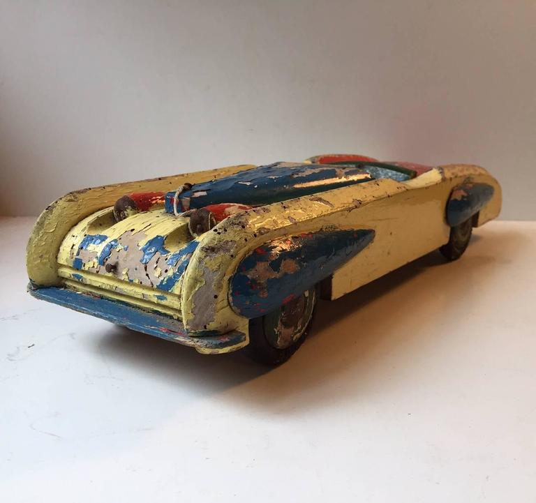 Rustic Motors 3d Custom Made Jewelry Home: Unique, Decorative And Rustic 1930s Streamlined Wooden Toy