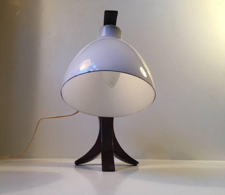 Quirky Wall Lamps : Unusual German Modernist Moon Hybrid Table or Wall Lamp in Oak and Opaline Glass For Sale at ...