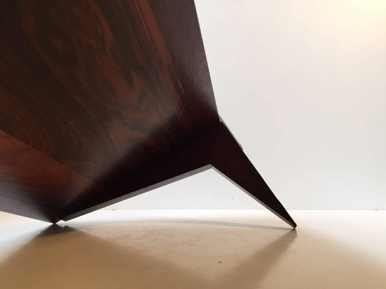 Mid-Century Modern Vintage Danish Floating Shelf in Rosewood by Poul Cadovius, Cado, 1960s For Sale