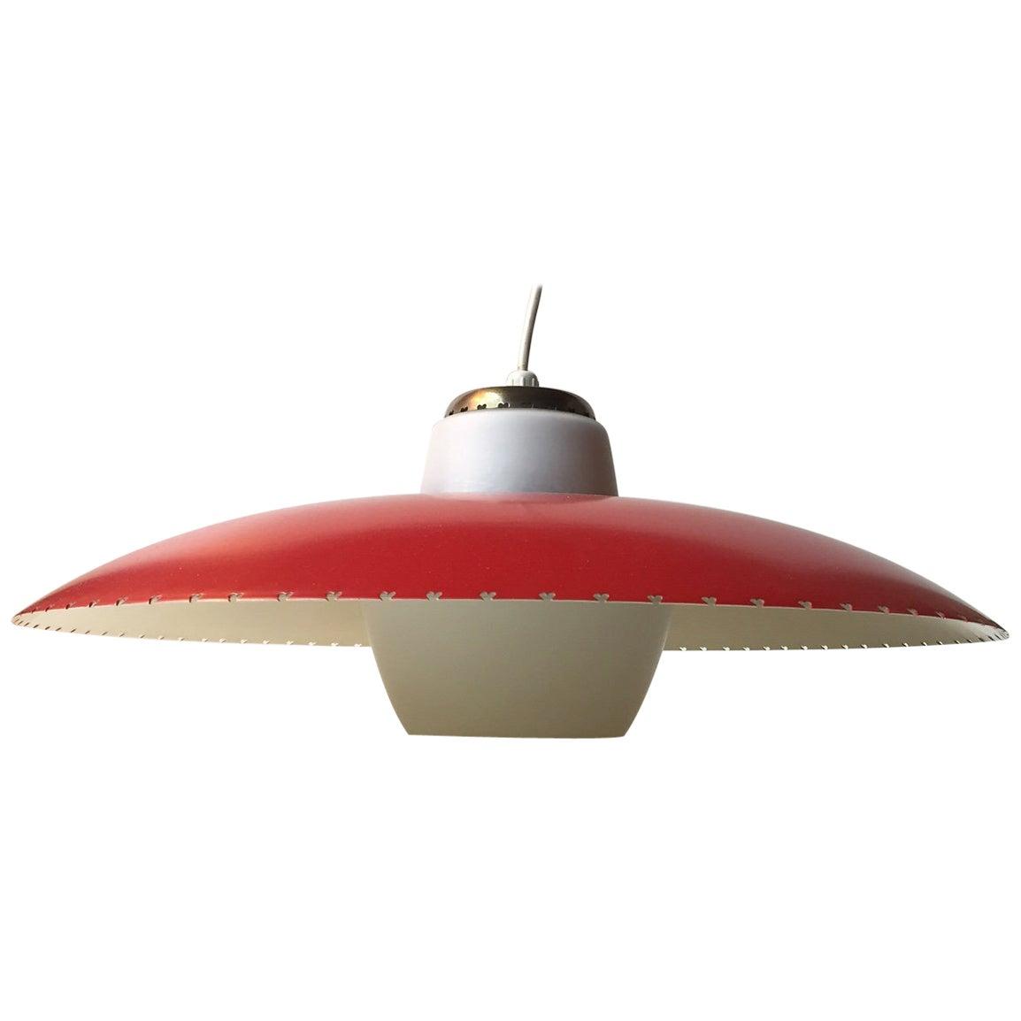 Danish Midcentury 'Heart' Pendant Lamp by Bent Karlby for Lyfa, 1950s