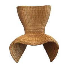 1990s Marc Newson Wicker Chair