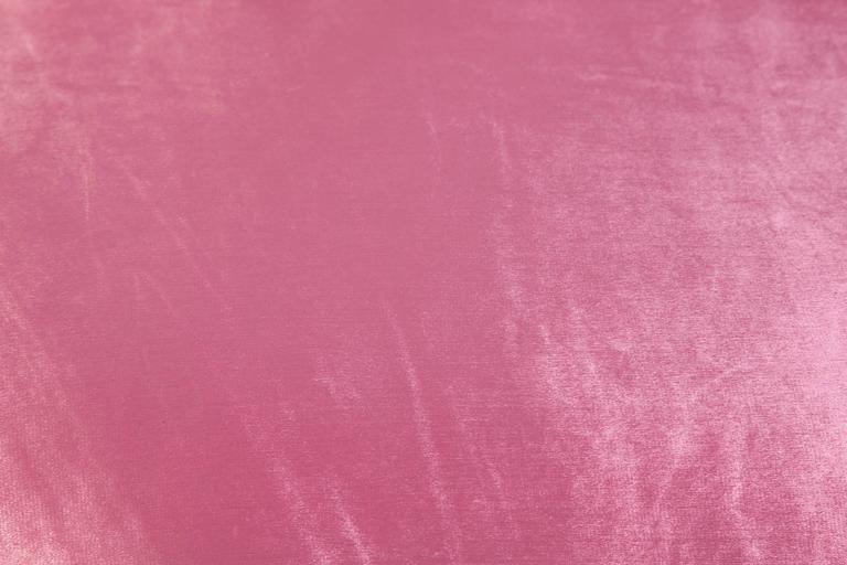 1980s Croissant Sofa in Pink Velvet 4