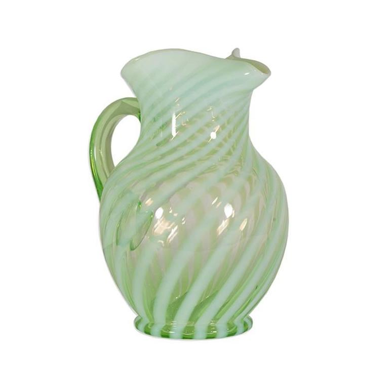 Vintage Fenton Glassware Set At 1stdibs
