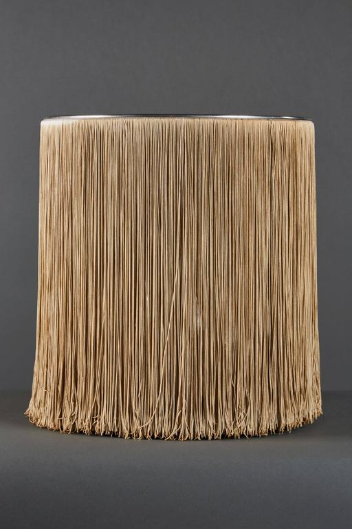 "Dramatic ""597"" Fringed Table Lamp by Gianfranco Frattini for Arteluce 3"