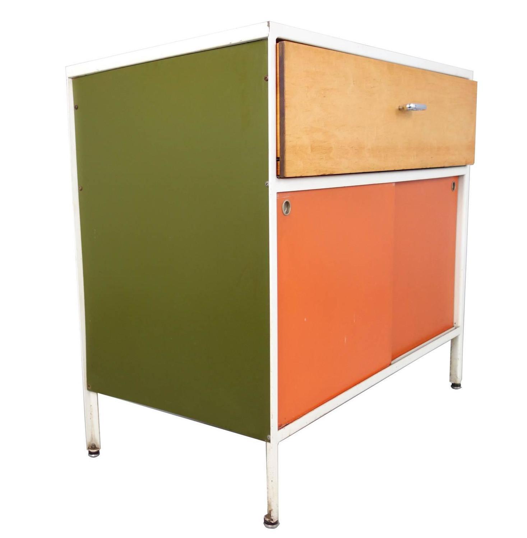 Steel Frame Kitchen Cabinets: George Nelson Steel Frame Cabinet By Herman Miller At 1stdibs