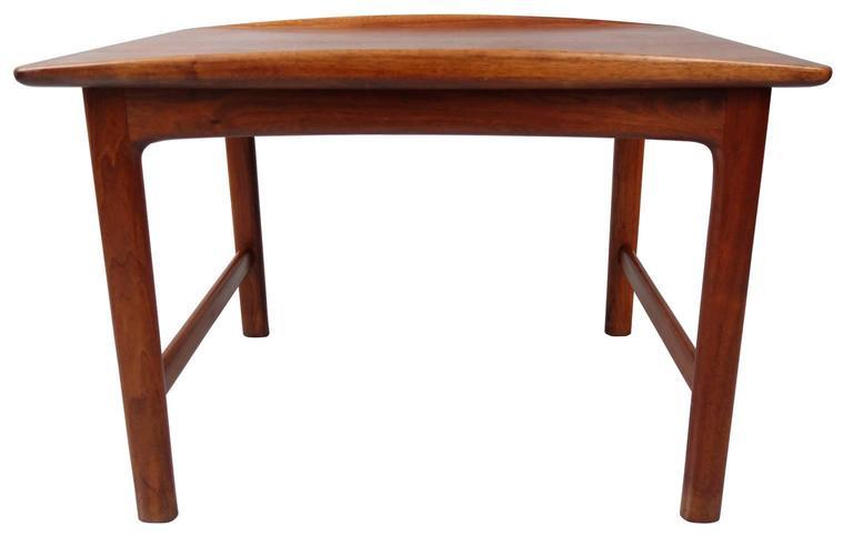 Mid-Century Modern Folke Ohlsson for DUX Teak End Table For Sale