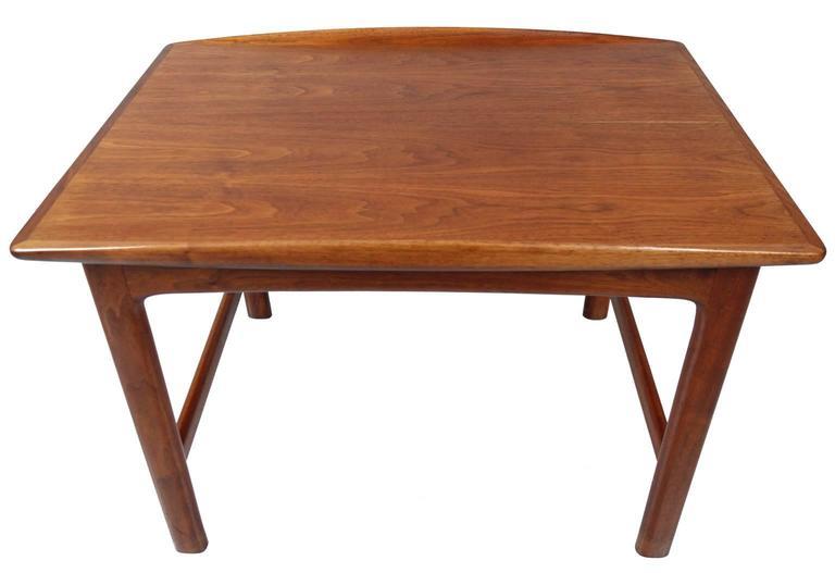 Swedish Folke Ohlsson for DUX Teak End Table For Sale