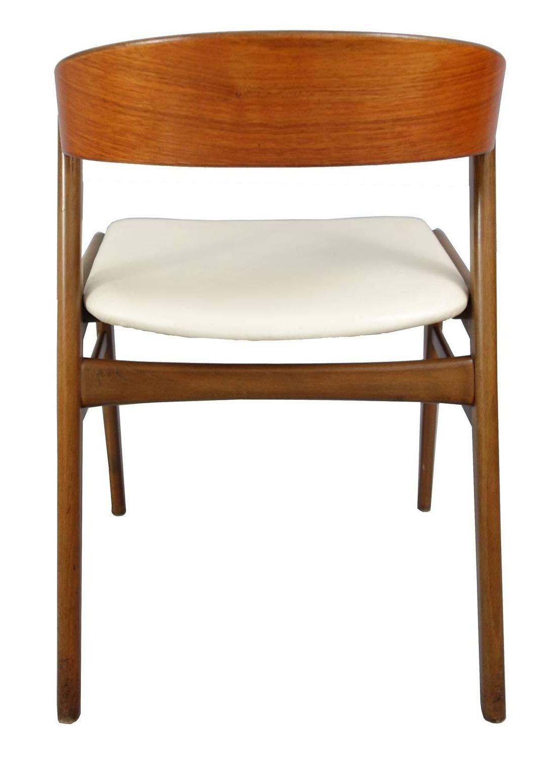 set of eight kai kristiansen danish modern dining chairs at 1stdibs