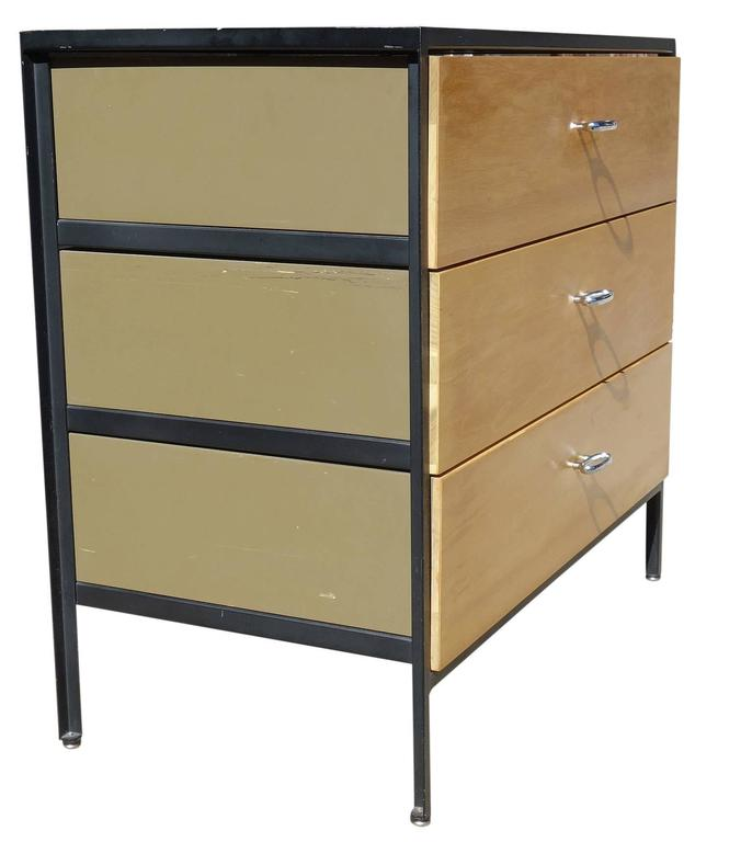 george nelson for herman miller george nelson mid-century dressers george nelson dressers modern george nelson steel frame dressers