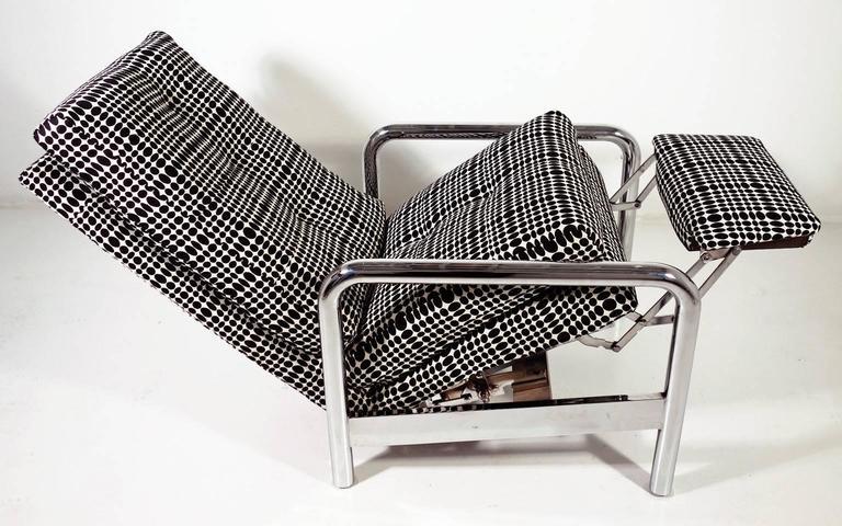 American Midcentury Milo Baughman Reclining Lounge Chair