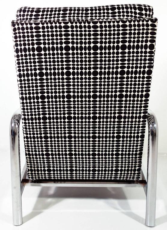 Midcentury Milo Baughman Reclining Lounge Chair 2