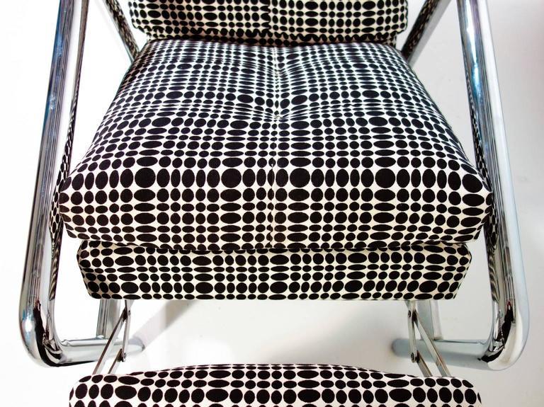 Midcentury Milo Baughman Reclining Lounge Chair 1