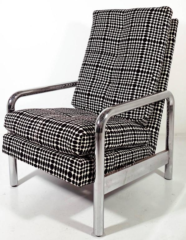 Mid-Century Modern Midcentury Milo Baughman Reclining Lounge Chair