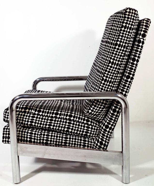 Late 20th Century Midcentury Milo Baughman Reclining Lounge Chair