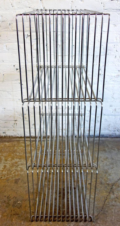 Mid Century Verner Panton Pantonova Wire Cubes For Fritz