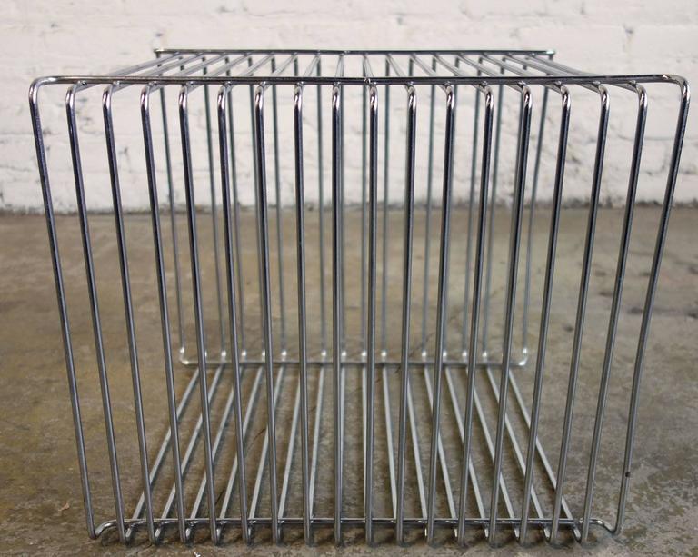Mid-Century Verner Panton Pantonova Wire Cube for Fritz Hansen 2
