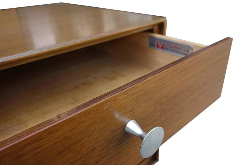 American Mid-Century George Nelson Thin Edge Side Table or Nightstand For Sale