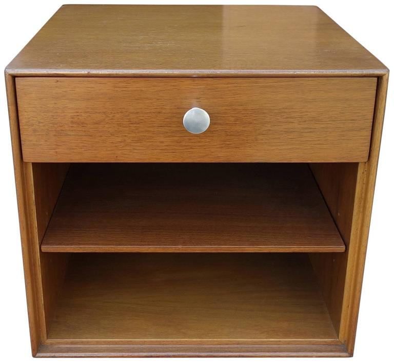 Mid-20th Century Mid-Century George Nelson Thin Edge Side Table or Nightstand For Sale