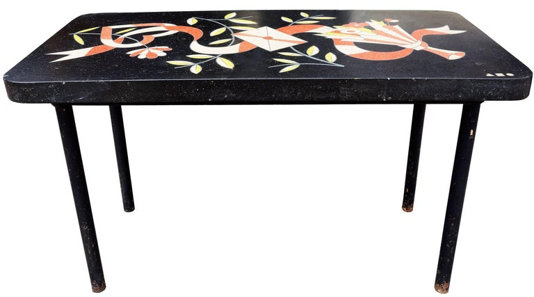 Mid-Century Modern One of a Kind Midcentury Side Table Designed by Alexander Girard For Sale