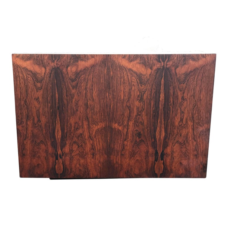 Late 20th Century Milo Baughman for Thayer Coggin Case Sofa in Rosewood For Sale