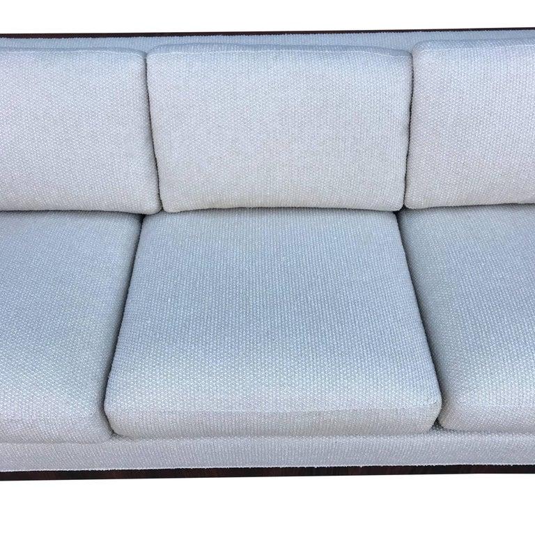 Milo Baughman for Thayer Coggin Case Sofa in Rosewood For Sale 2