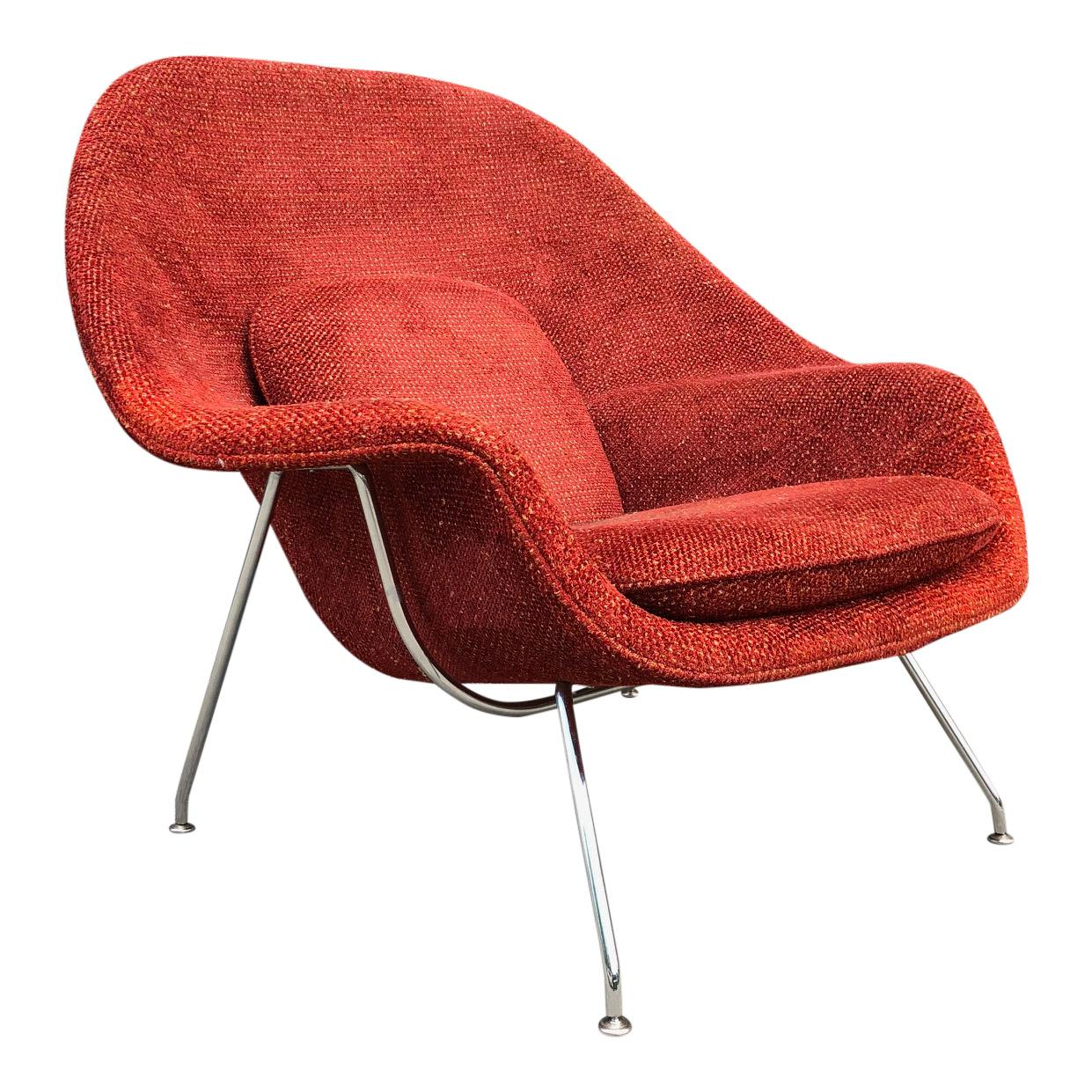 Eero Saarinen for Knoll Womb Chair  sc 1 st  1stDibs & Saarinen for Knoll Womb Chair with Ottoman For Sale at 1stdibs