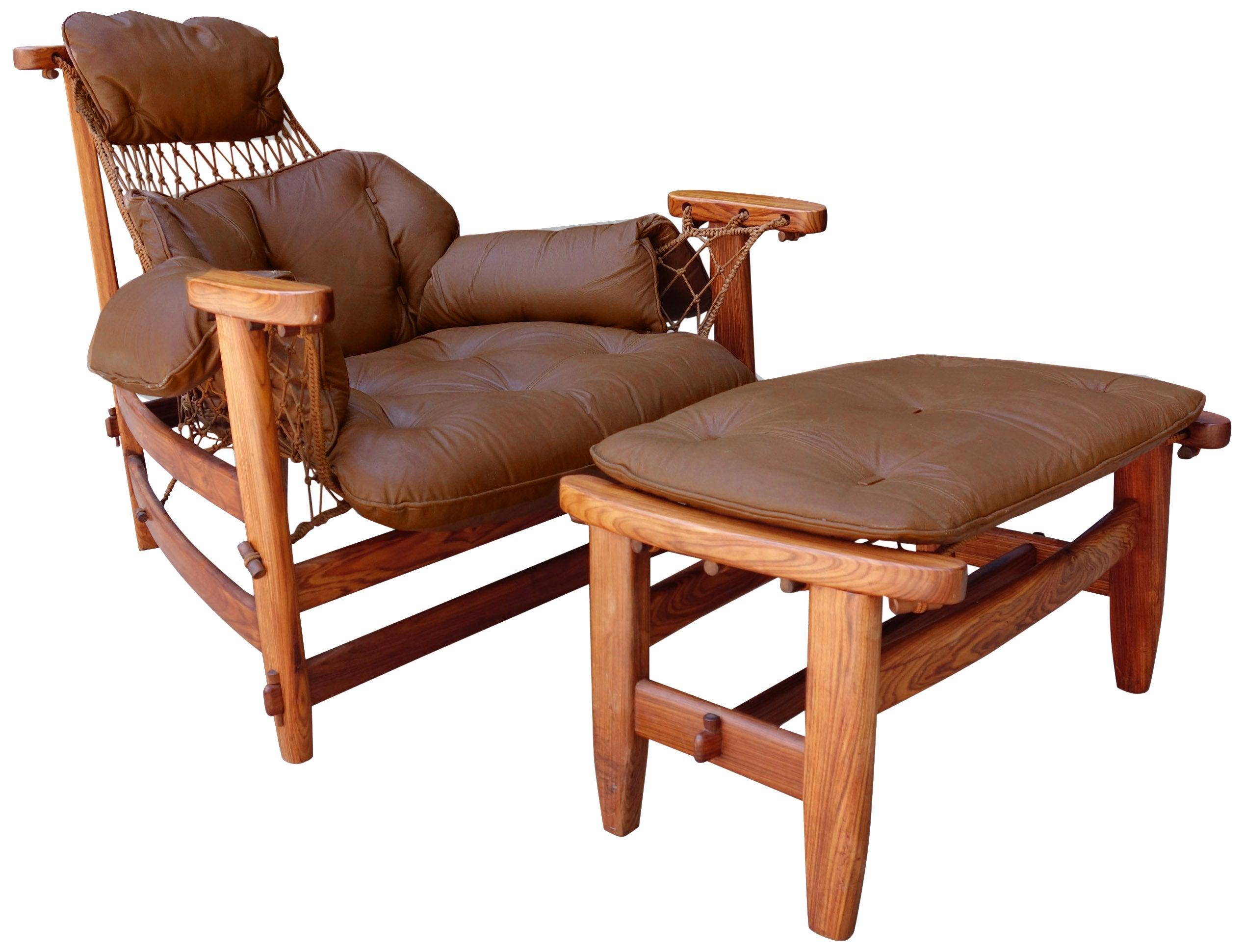 Midcentury Brazilian Lounge Chair by Jean Gillon