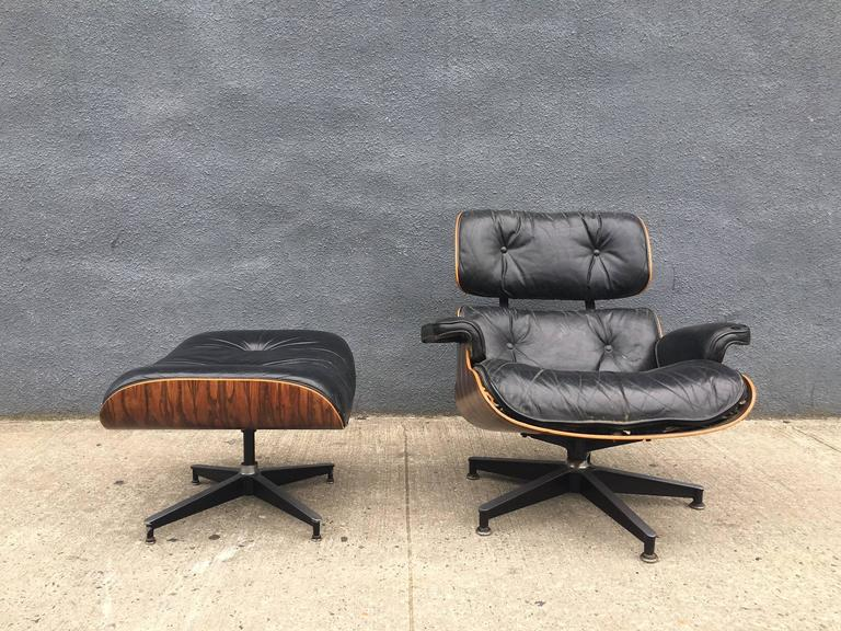 eames lounge chair for herman miller in high contrast brazilian