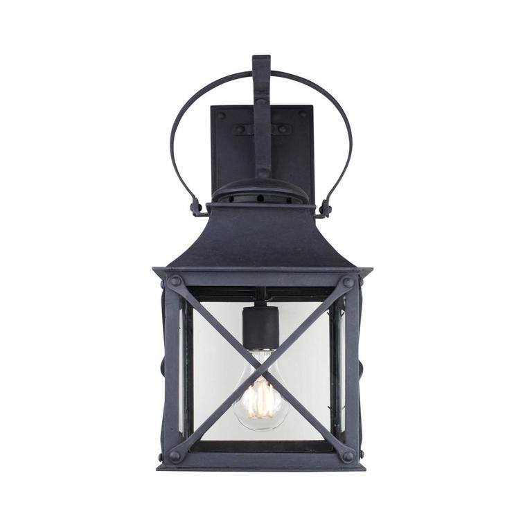 Classic Coastal Wrought Iron Light Lantern For Exterior Outdoor By Britt Jewett For Sale At 1stdibs