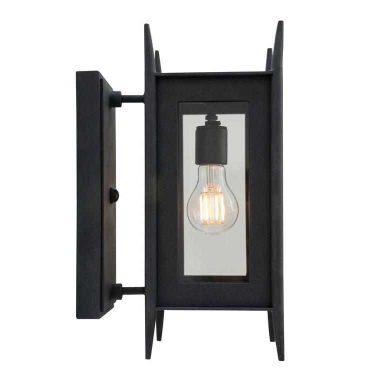 Modern Wrought Iron Exterior Wall Sconce Outdoor Lighting By Nathaniel Arnold