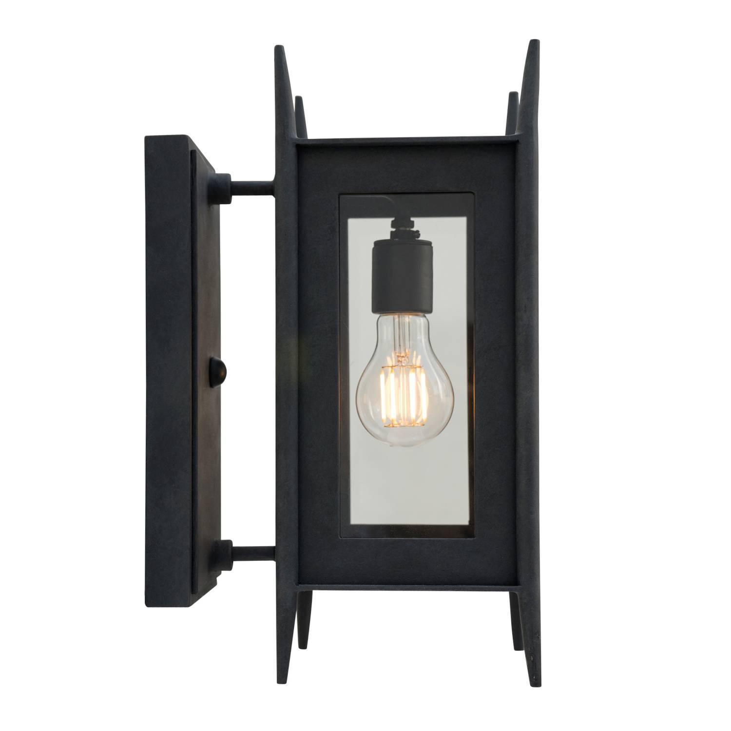 Iron Outdoor Wall Sconces : Modern Wrought Iron Exterior Wall Sconce Outdoor Lighting by Nathaniel Arnold For Sale at 1stdibs