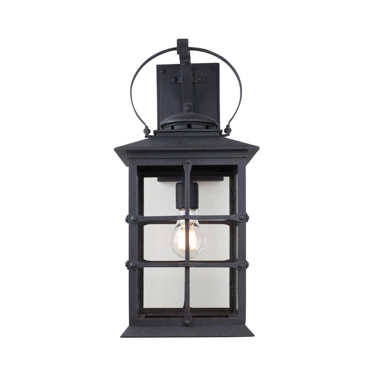 Built over 220 years ago, the historic Santa Barbara Mission displays the unpretentious adobe style of American Colonial architecture. Emulating its timeless look, our Mission inspired lantern has clean lines, detailed top, and a timeless look.