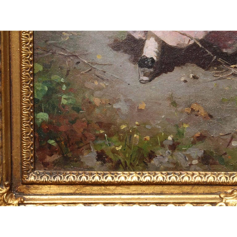 Francesco Peluso (Italian, 1836-1916) An Oil on Canvas