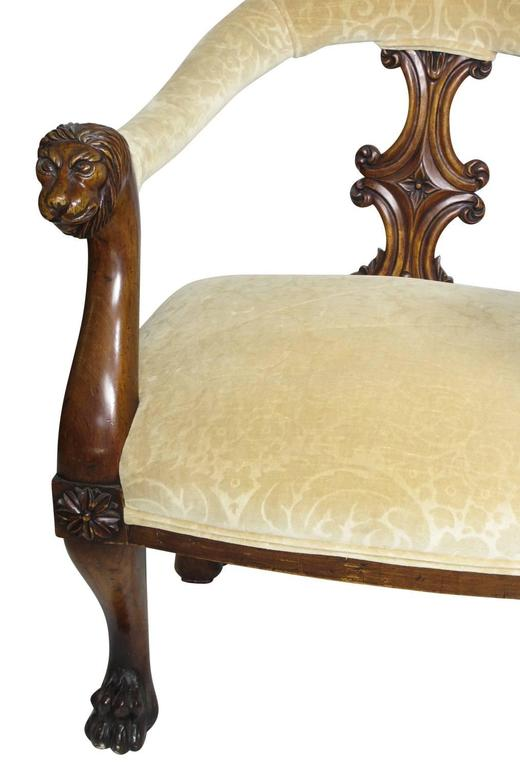 A very fine and rare English 19th Century Victorian mahogany