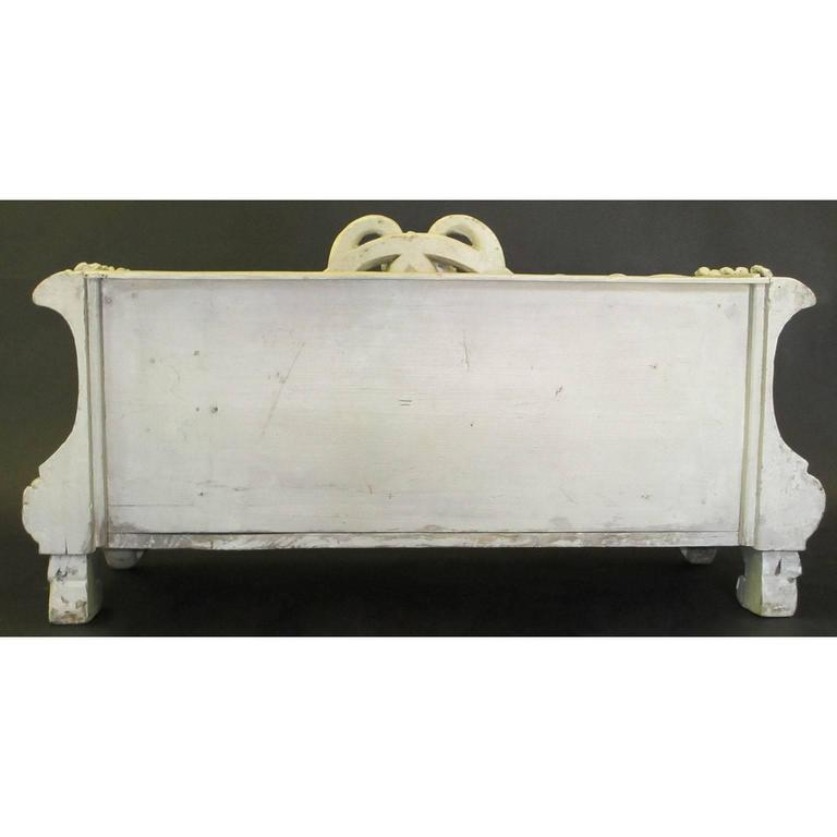 French Art-Nouveau Carved Wood Planter, Former Property of Oprah Winfrey For Sale 3