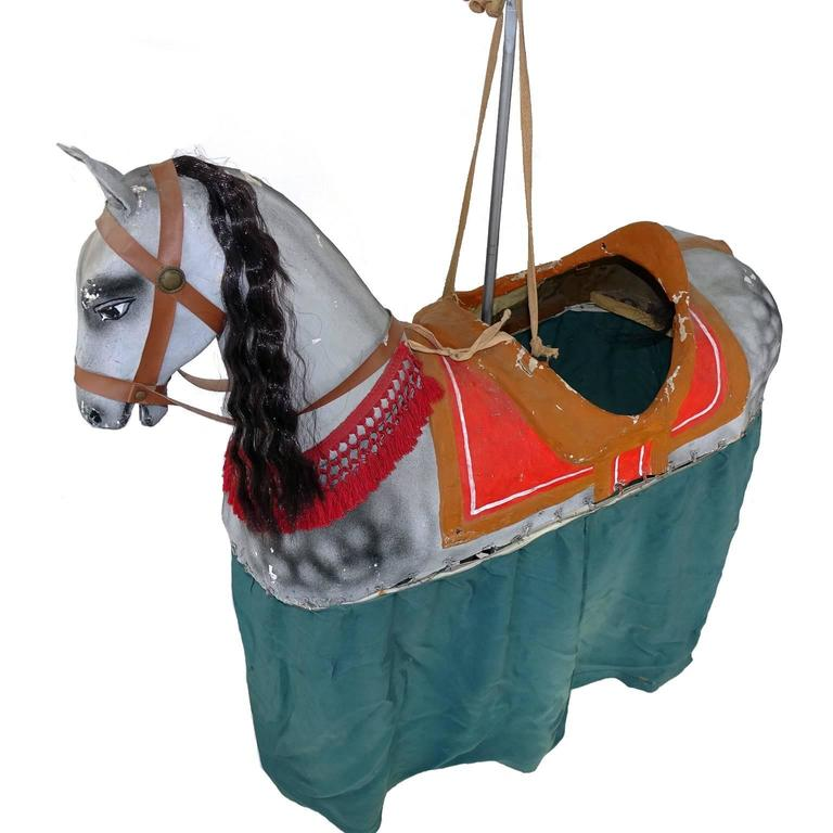 1890 French Paper Mache Children's Toy Horse Costume at ...